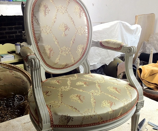 Re upholstery seat